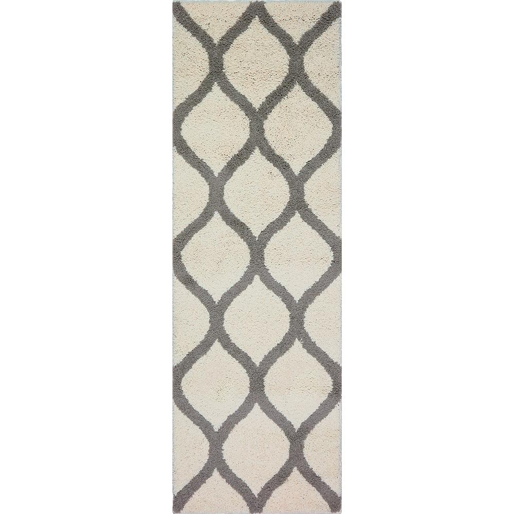 Ogee 2 Color Shag Cream Runner Maples Rugs
