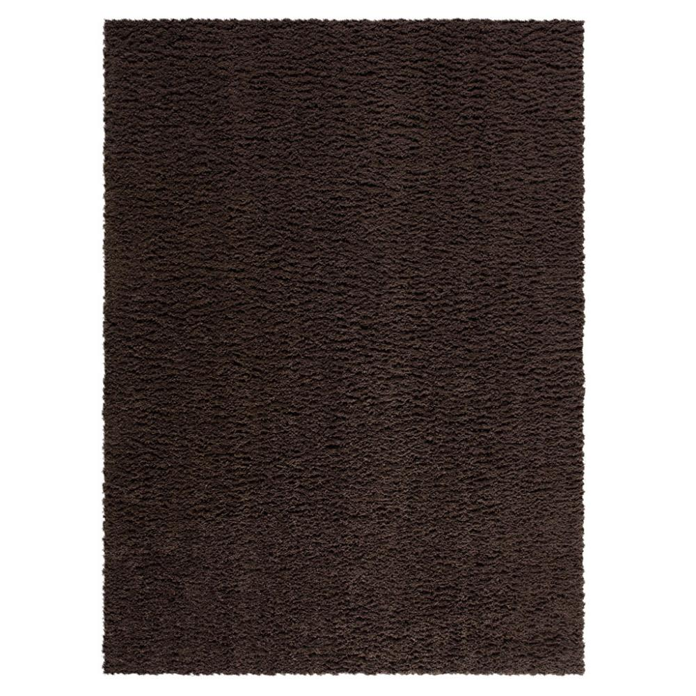 Manchester Shag Brown Suede Area Rug