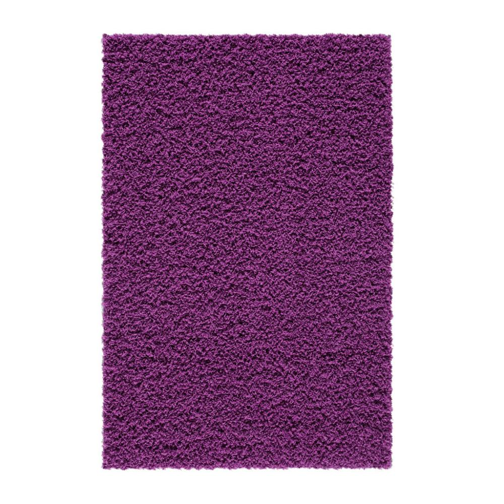 Shag purple accent rug maples rugs for Rugs with purple accents